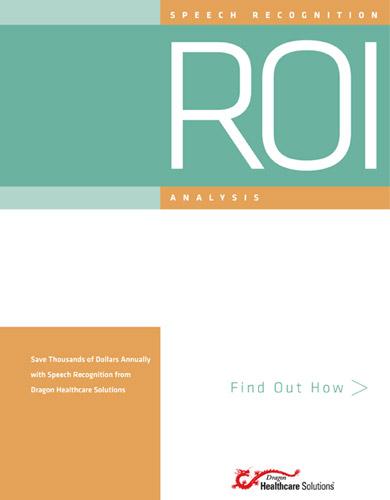 Nuance ROI Analysis Brochures